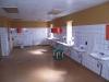 Tvättrum i kontorsdelen