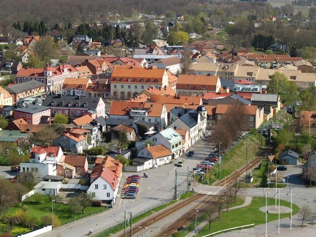 Utsikt mot gamla stan
